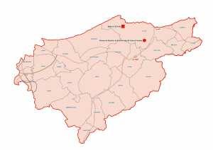 ولاية الطارف : خريطة المواقع التاريخية والآثار والتراث الثقافي