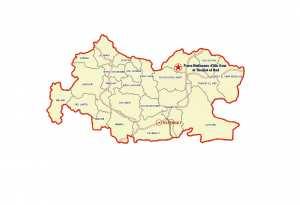 ولاية تيسمسيلت : خريطة المواقع التاريخية والآثار والتراث الثقافي