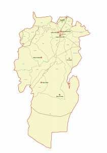 ولاية خنشلة : خريطة المواقع التاريخية والآثار والتراث الثقافي