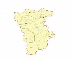 ولاية ميلة : خريطة المواقع التاريخية والمعالم الأثرية والتراث الثقافي