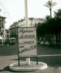 Du temps de la colonisation, les français nous combattaient avec nos propres armes ...