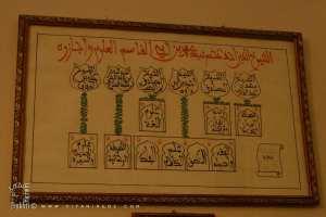 Liste des Chouyoukh de Sidi Mohammed Ben Belgacem