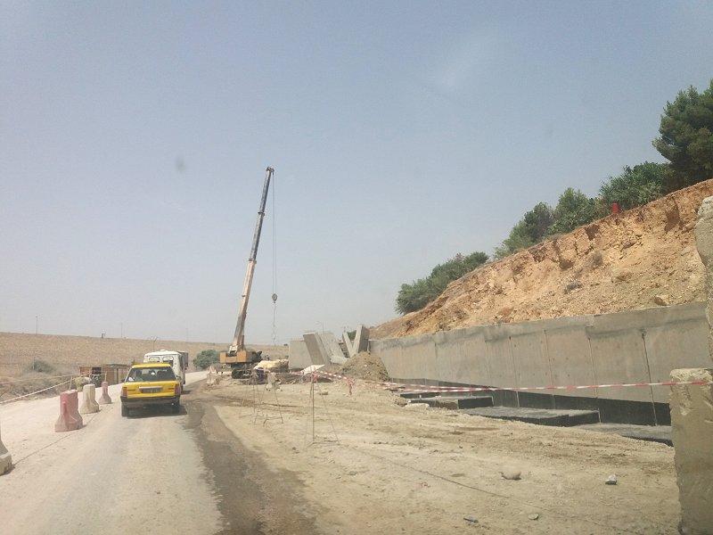 Travaux de route à Hammam Boughrara par la SEROR