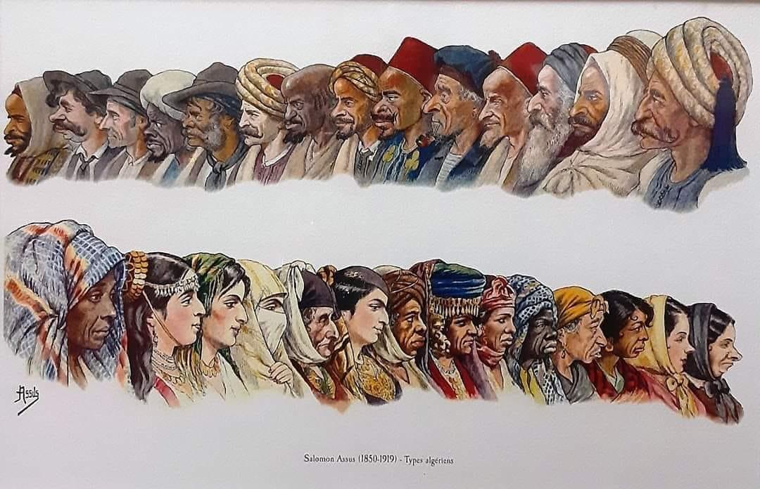 Salomon Assus : Types algériens