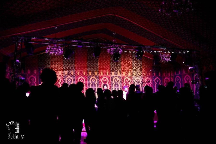 Imahran (Musique Touareg Blues) à l'hotel Agadir, Tlemcen