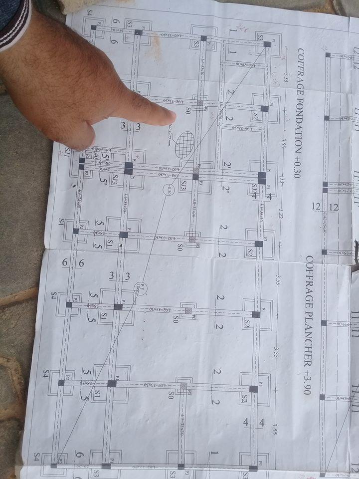 مخطط لمطعم المجمع الجديد