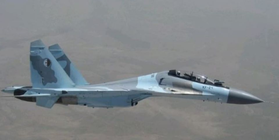 Crash d'un Su-30 de l'armée de l'air algérienne