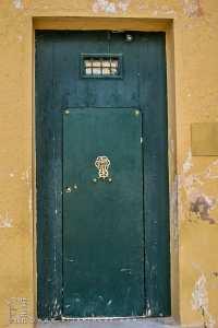 Une des portes de la zaouia d'El Hamel