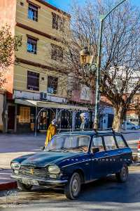 Sebdou, le village des cafés, djellabas et voitures d'un autre temps ...