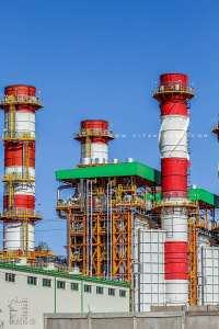 La centrale électrique de Mécheria qui sera opérationnelle à l'été 2020