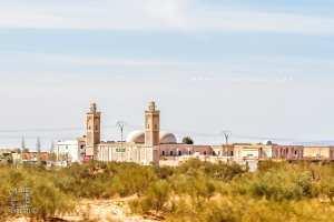 Masjid Echeikh sidi Mohammed Belekbir à l'entrée de Naama