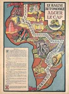 Le Jeu : Rallye Alger le Cap