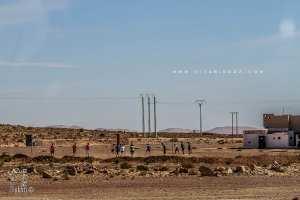 Caserne au croisement menant de Boussemghoun vers El Biodh Sidi Chikh / El Bnoud