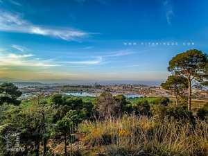 Vue panoramique du plateau de Lalla Setti à partir de la Fôret du petit perdreau (Parc National de Tlemcen)