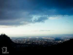 Vue panoramique de la ville de Tlemcen coté Est