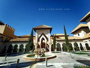 Le centre d'études andalouses de Tlemcen est un joyau architectural inspiré de l'art mauresque andalou.