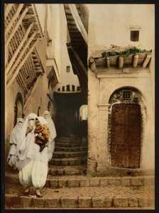 Rue du Chameau. Alger (Algérie)