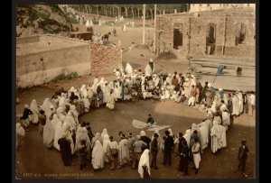 Jongleur arabe. Alger (Algérie)