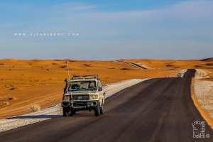 Le mythique Toyota Station au désert du Tinerkouk (Wilaya d'Adrar)