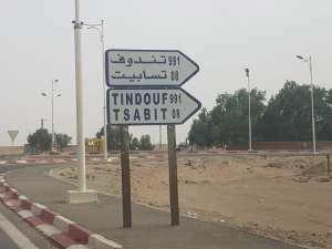 Adrar-Tindouf via Chenachène