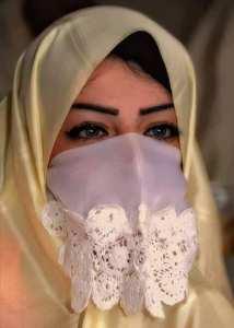 LE HAIK (Le voile blanc Algérois)