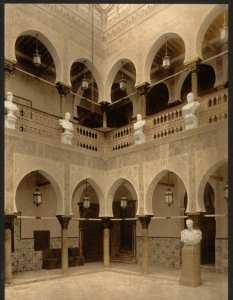 Dar Hassan Pacha : Intérieur du palais du gouverneur. Alger (Algérie)