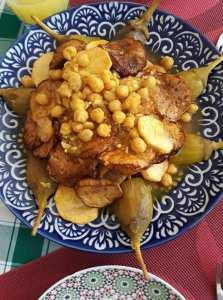 L'histoire d'un proverbe culinaire algerien: البرانية في دار القلوش فامة