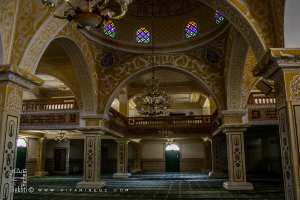 Intérieur de la mosquée de la Zaouia d'El Hamel