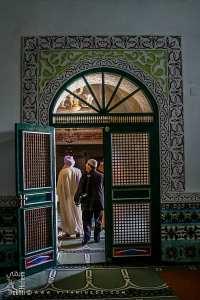 Porte de la mosquée de la Zaouia d'El Hamel