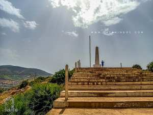 Monument aux morts au lieu dit Col du Juif ou 3agbet el yhoudi