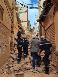 Alger Effondrement d'une vieille bâtisse à La Casbah, aucune perte n'est déplorée