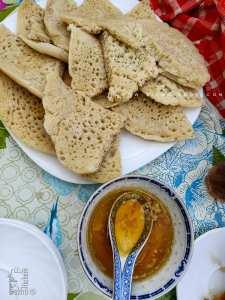 Recette Baghrir de Tlemcen