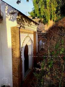 Porte latérale Ouest de la mosquée de Sidi Haloui