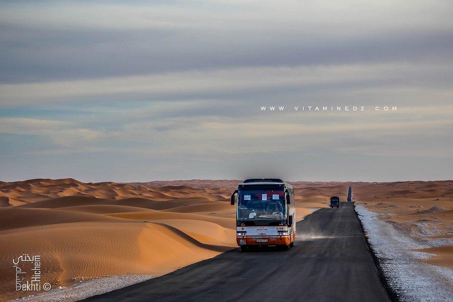 Transport de voyageur par car vers le Sud (Adrar, Timimoun, Tamanrasset)