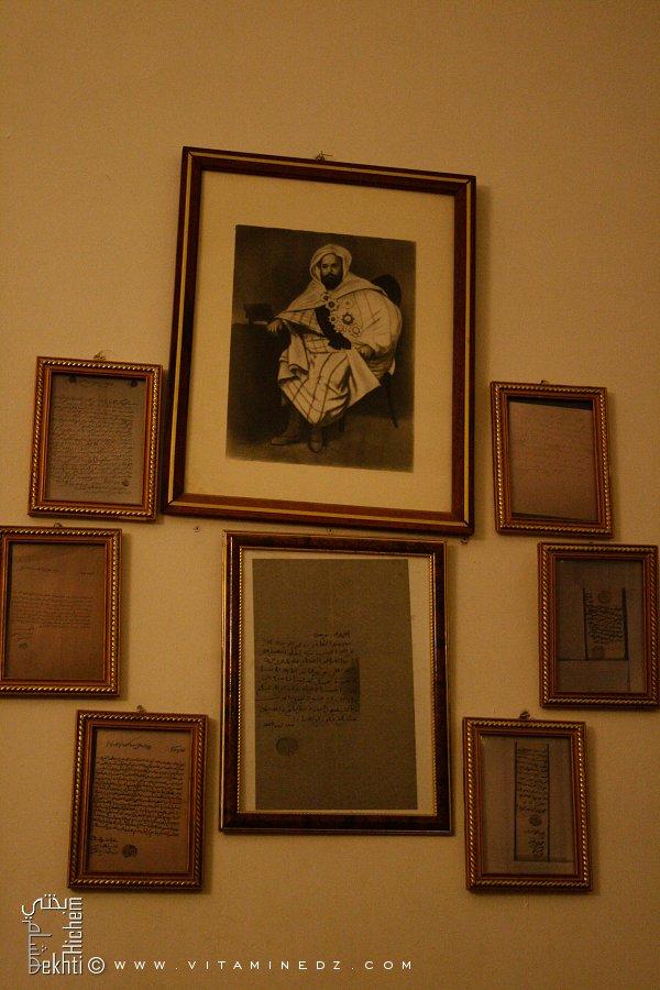 Zaouia El Hamel, lettres de l'Emir Abdel Kader