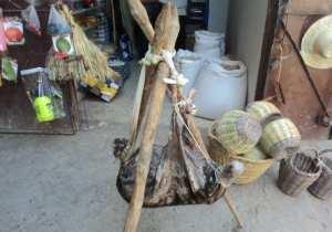 Boutique d'épices et semences à Lemroudj