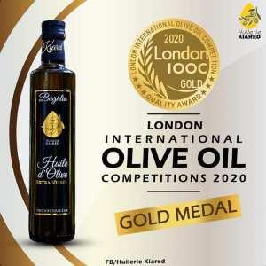 Huile d'Olive algérienne : une autre médaille en OR décrochée à London ( LIOOC)
