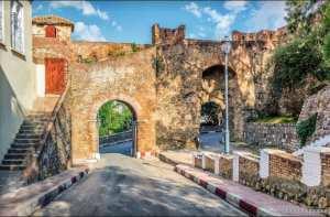 La porte des Etendards «Bab El-Bounoud» également désignée par Bab El-Fouka