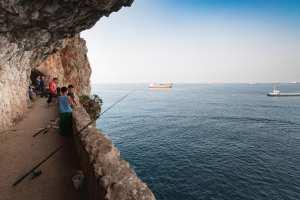 Béjaia-Vue sur la méditerranée
