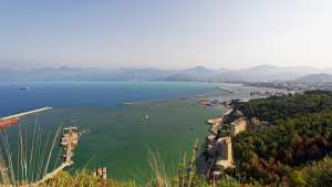 Bejaia-vue sur mer