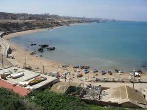 Plage Sidi Medjoub ou Kharrouba (Mostaganem)