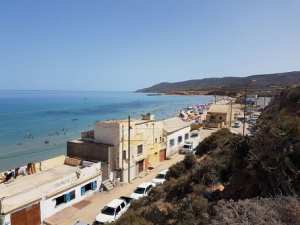 Plage El Borj El Abyadh Ex Cap Blanc (Oran)