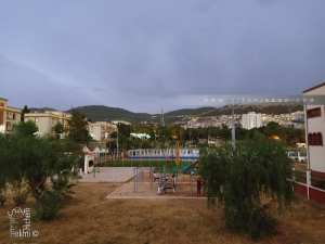 Espace de sport de plein air au grand bassin de Tlemcen