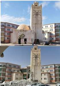 l'ancienne station de la gare de Oued Souf est en cours de destruction par les autorités locales