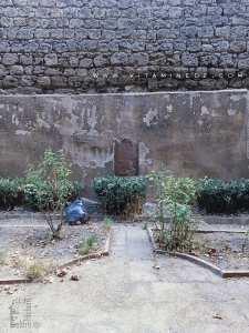 Inscription arabe effacée sur le Mur d'El Mechouar (Tlemcen)