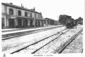 La gare- Ain Beida- Oum bouaghi
