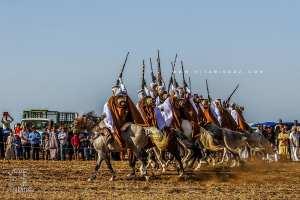 Fantasia à la Waada des Traras à Dar Yaghmoracen (Tlemcen)