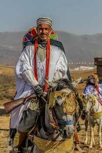 Cavalier à la Waada des Traras à Dar Yaghmoracen (Tlemcen)