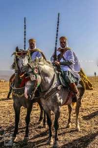 Beaux Cavaliers à la Waada des Traras à Dar Yaghmoracen (Tlemcen)