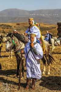 Cavaliers à la Waada des Traras à Dar Yaghmoracen (Tlemcen)
